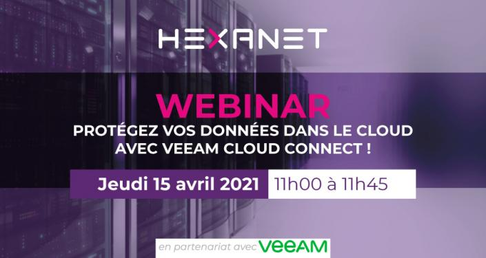 Invitation Webinar Veeam Cloud Connect