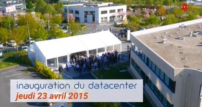 Embedded thumbnail for Reportage Inauguration du Datacenter HEXANET